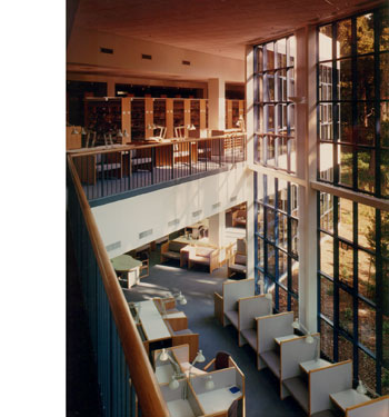 Peter Dodge Faia Architect Mills College F W Olin Library
